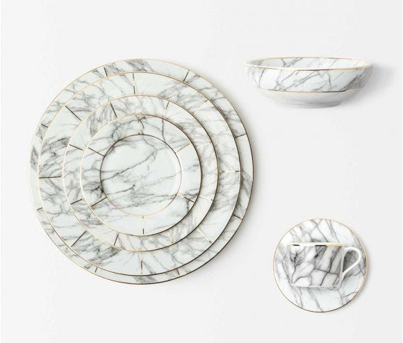 Eleni White Marble Collection