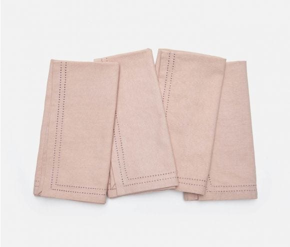 Betty Napkin Dusty Rose
