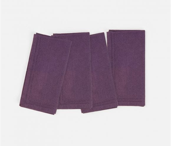 Betty Napkin Plum