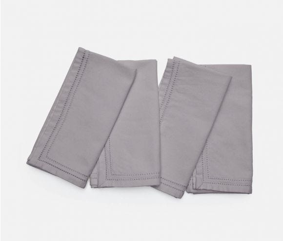 Betty Napkin Steel Gray