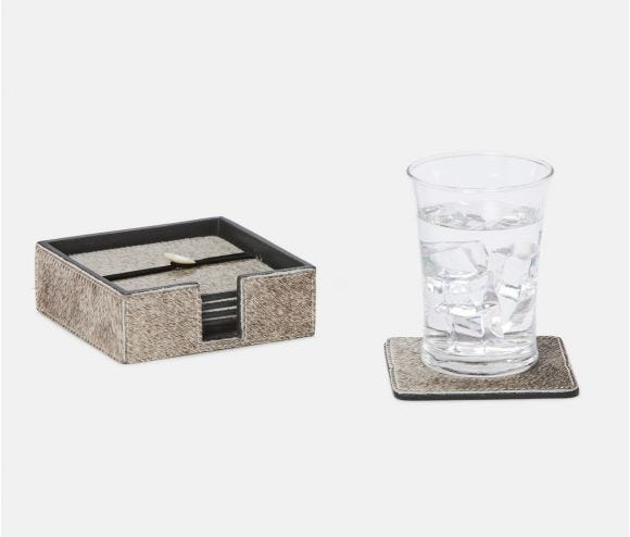 Browmley Gray Coasters