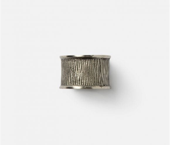 Ellery Napkin Ring Antiqued Pewter