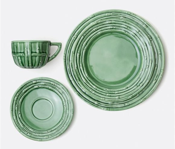 Gia Green Bamboo Collection
