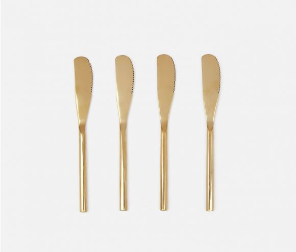Gwen Polished Gold Spreaders