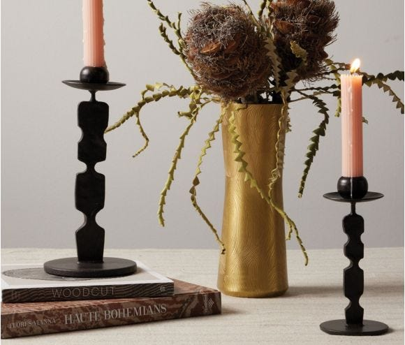 Quentin Round Base Candle Holders