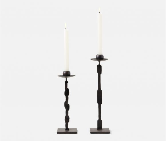 Quentin Square Base Candle Holders