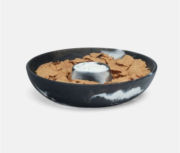 Hugo Chip and Dip Bowl