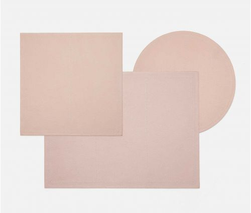 Evan Dusty Rose Placemat