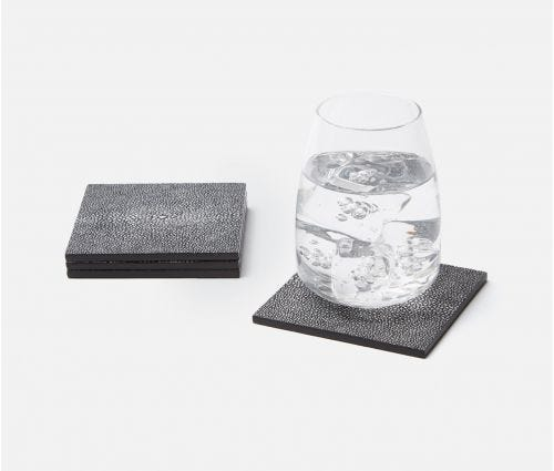 Henry Cool Gray Coasters