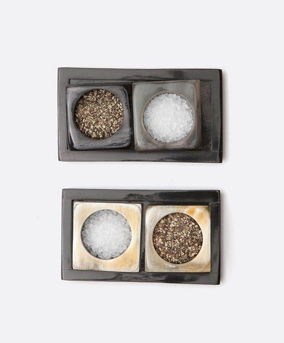 SALT & PEPPER SHAKERS / PINCH BOWLS